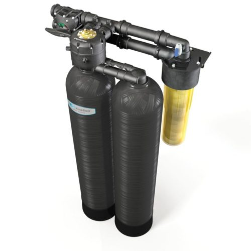whole house water softener